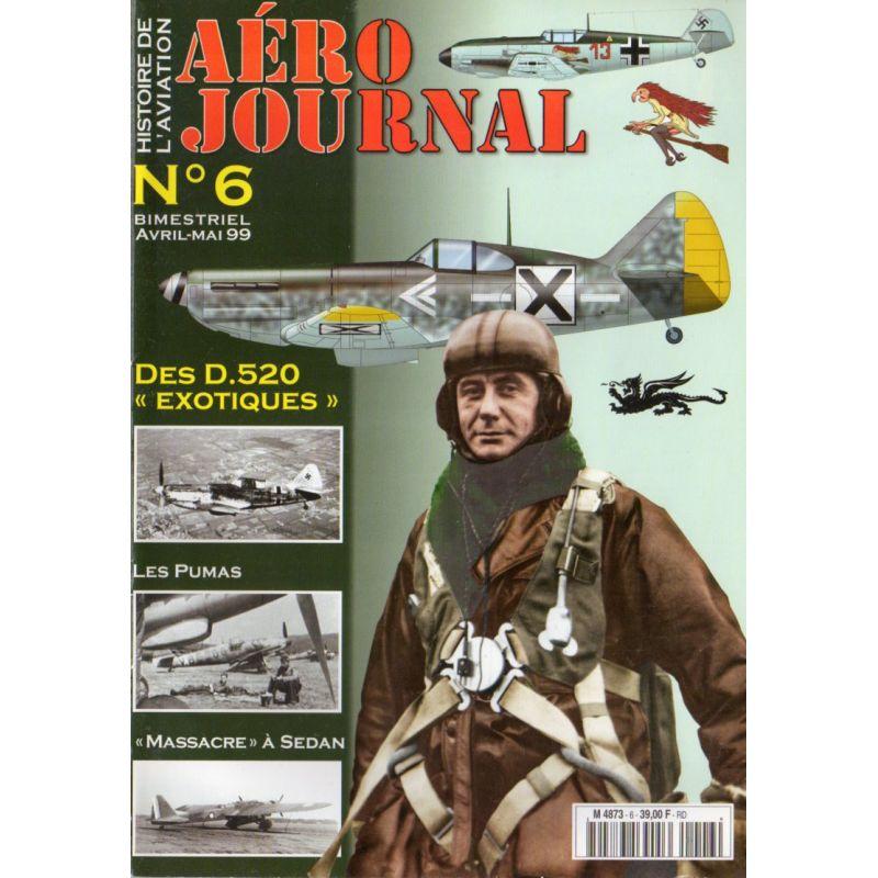 """Aéro journal n° 6 - Des D.520 """"Exotiques"""""""
