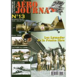 Aéro journal n° 13 - Les Lysander de la France Libre