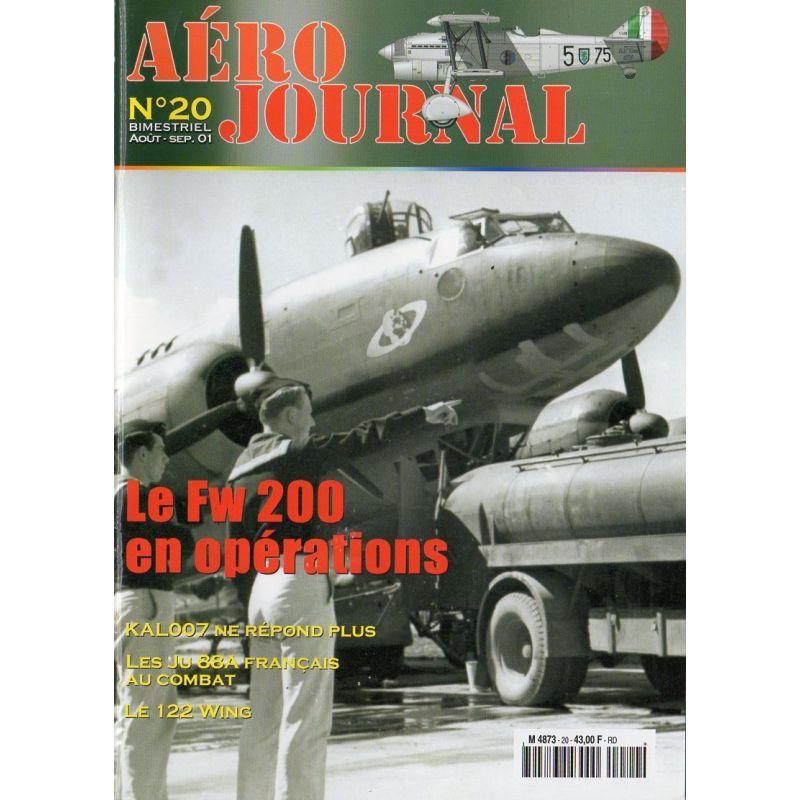 Aéro journal n° 20 - Le Fw 200 en opérations