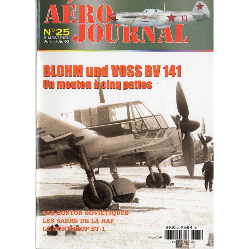 Aéro journal n° 25 - BLOHM und VOSS BV 141, un mouton à cinq pattes
