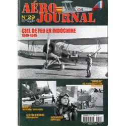 Aéro journal n° 29 - Ciel de feu en Indochine, 1940-1945