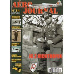 Aéro journal n° 34 - JG 2 RICHTOFEN (Jagdgeschwader)