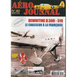 Aéro journal n° 40 - DEWOITINE D.500 - 510, Le Chasseur à la Française