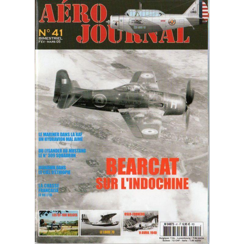 Aéro journal n° 41 - BEARCAT sur l'Indochine