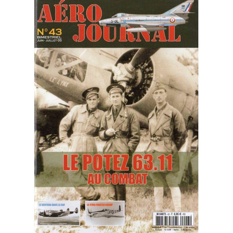Aéro journal n° 43 - Le POTEZ 63.11 au combat