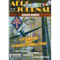 Aéro journal n° 48 - Les Français dans la Bataille d'Angleterre