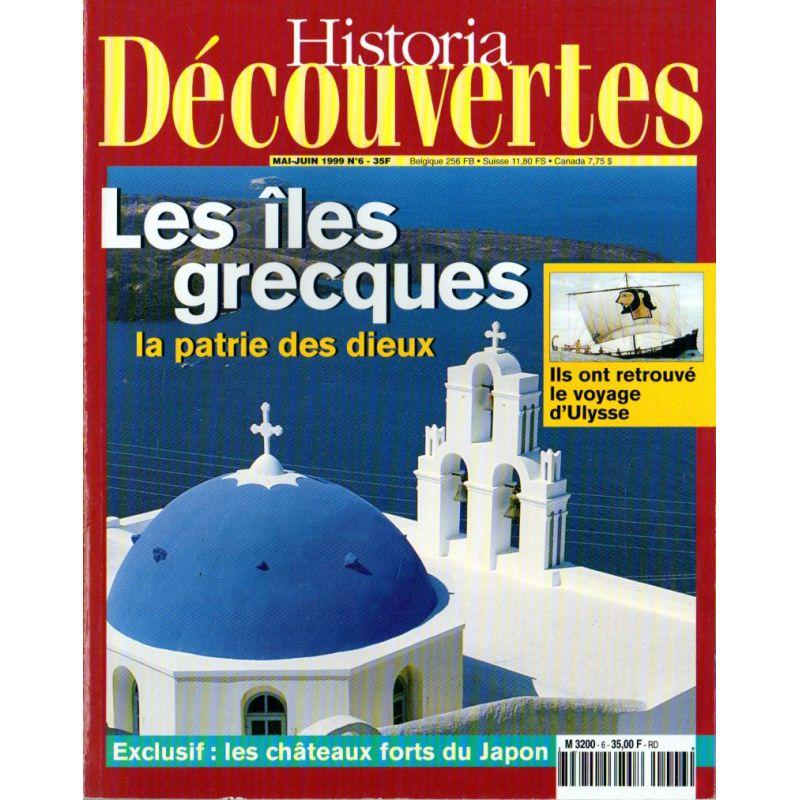 Historia Découverte n° 6 - Les îles grecques, la patrie des dieux
