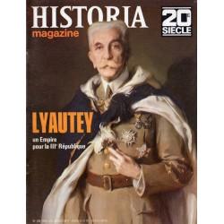 Historia Magazine 20e siècle n° 109 - LYAUTEY, Un Empire pour la République