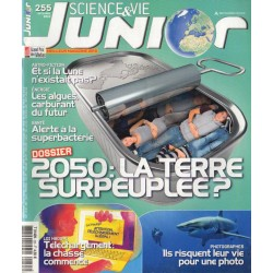 Science & Vie Junior n° 255 - 2050 : La Terre surpeuplée ?