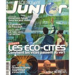 Science & Vie Junior n° 257 - les ECO-CITES, comment les villes passent au vert