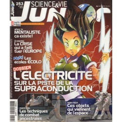Science & Vie Junior n° 253 - L'Électricité, sur la piste de la supraconduction