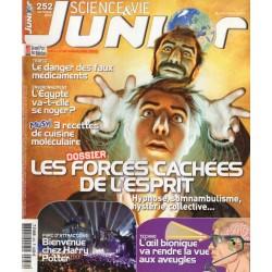 Science & Vie Junior n° 252 - Les forces cachées de l'esprit