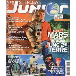 Science & Vie Junior n° 251 - MARS, comment en faire une seconde Terre