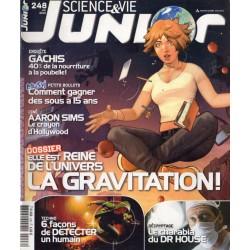 Science & Vie Junior n° 248 - La Gravitation : Elle est reine de l'univers