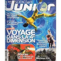 Science & Vie Junior n° 247 - Voyage dans la 4ème dimension