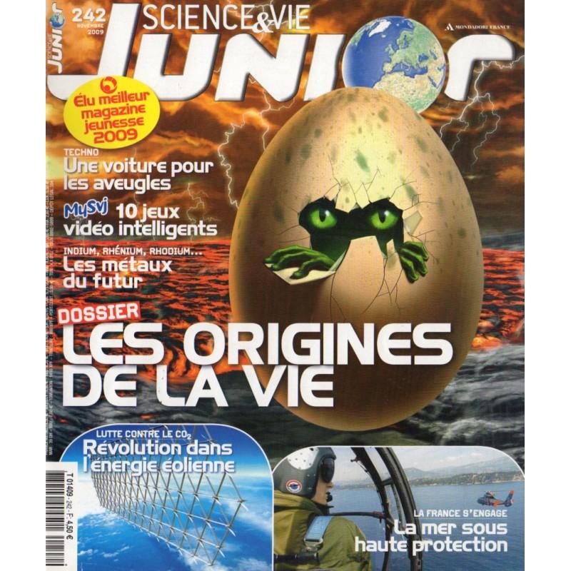 Science & Vie Junior n° 242 - Les Origines de la Vie