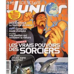 Science & Vie Junior n° 240 - Les vrais pouvoirs des Sorciers
