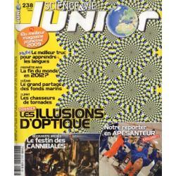 Science & Vie Junior n° 238 - Les Illusions d'Optique