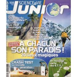 Science & Vie Junior n° 232 - 20 lieux magiques, à chacun son Paradis !