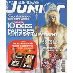 Science & Vie Junior n° 223 - 10 idées fausses sur le réchauffement
