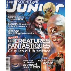 Science & Vie Junior n° 220 - Les Créatures fantastiques, ce qu'en dit la science