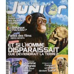 Science & Vie Junior n° 219 - Et si l'Homme disparaissait, que deviendrait la terre ?