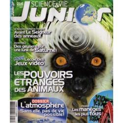 Science & Vie Junior n° 216 - Les pouvoirs étranges des animaux