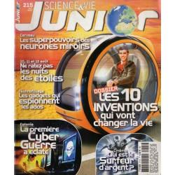 Science & Vie Junior n° 215 - Les 10 inventions qui vont changer la vie