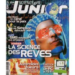Science & Vie Junior n° 214 - La Science des rêves