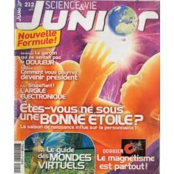Science & Vie Junior n° 212...