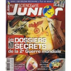 Science & Vie Junior n° 211 - Les Dossiers Secrets de la 2e Guerre mondiale