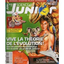 Science & Vie Junior n° 210 - Vive la théorie de l'évolution !