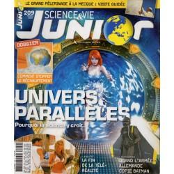 Science & Vie Junior n° 209 - Univers Parallèles, pourquoi la science y croit