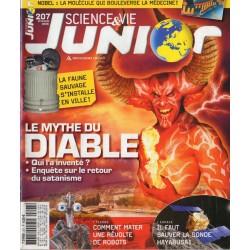 Science & Vie Junior n° 207 - Le Mythe du DIABLE