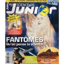 Science & Vie Junior n° 204 - Fantômes, qu'en pense la science ?