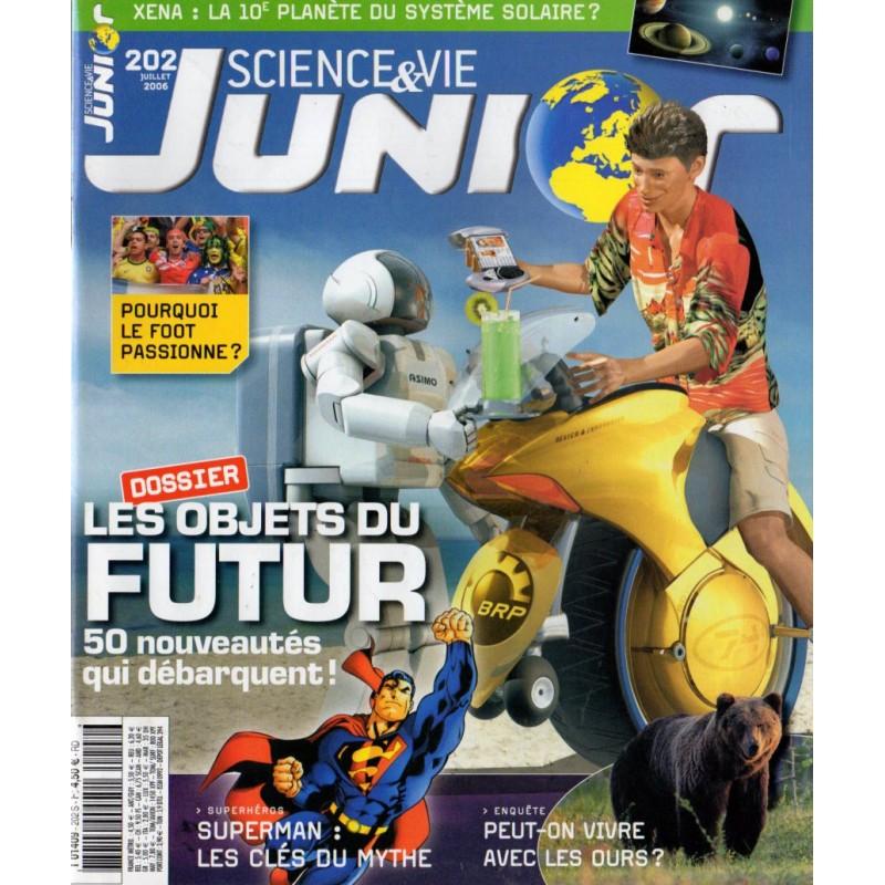 Science & Vie Junior n° 202 - Les objets du Futur, 50 nouveautés qui débarquent !