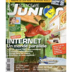 Science & Vie Junior n° 201 - Internet, un monde parallèle