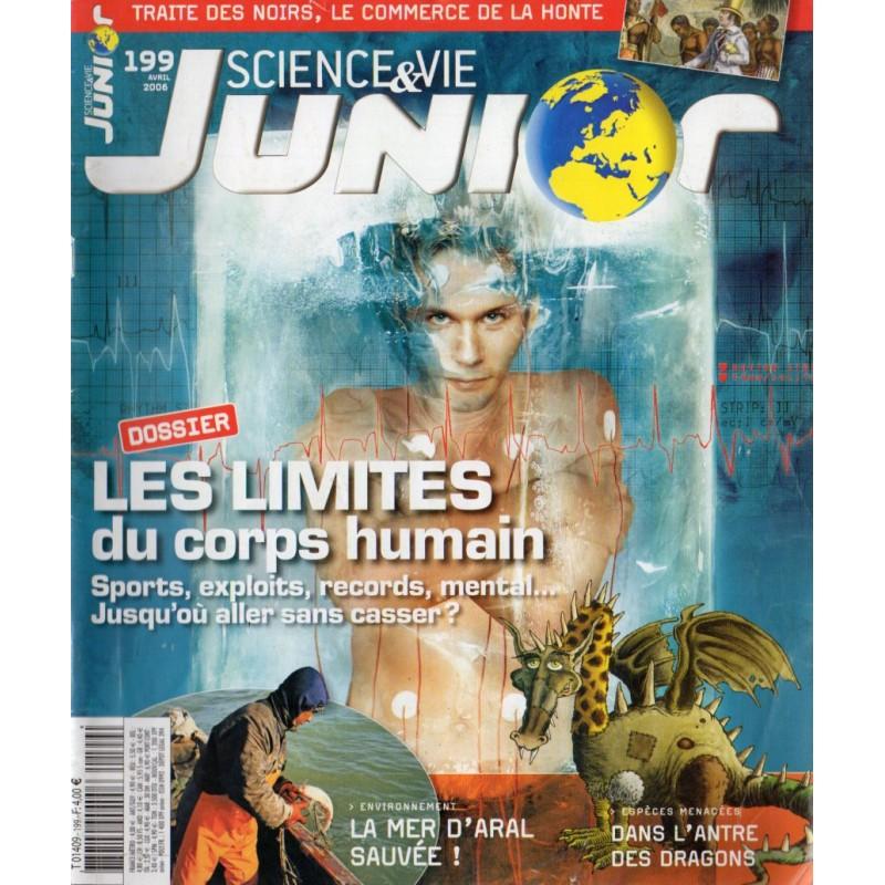 Science & Vie Junior n° 199 - Les limites du corps humain