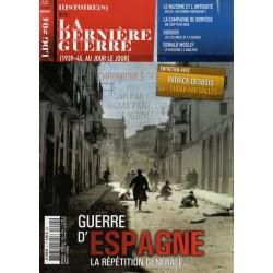 Histoire(s) de la Dernière Guerre n° 4 - Guerre d'Espagne, la répétition générale...