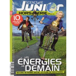 Science & Vie Junior (hors série) n° 90H - Les Énergies de Demain