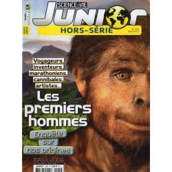 Science & Vie Junior (hors série) n° 105H - Les Premiers Hommes