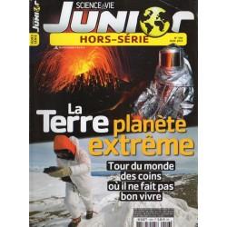 Science & Vie Junior (hors série) n° 106H - La Terre, planète extrême