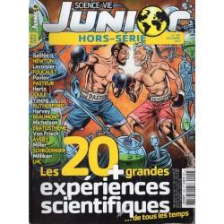 Science & Vie Junior (hors série) n° 109H - Les 20 + grandes expériences scientifiques... de tous les temps
