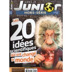 Science & Vie Junior (hors série) n° 115H - Les 20 idées scientifiques qui ont changé le monde