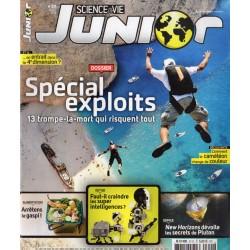 Science & Vie Junior n° 311 - Spécial exploits : 13 trompe-la-mort qui risquent tout