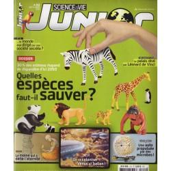 Science & Vie Junior n° 312 - Quelles espèces faut-il sauver ?