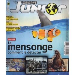 Science & Vie Junior n° 297 - Le Mensonge, comment le détecter