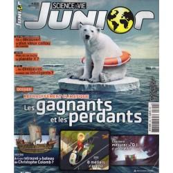 Science & Vie Junior n° 300 - Réchauffement climatiques : gagnants et perdants