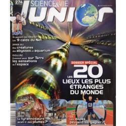 Science & Vie Junior n° 274 - Les 20 lieux les plus étranges du monde
