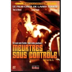 Meurtres sous Contrôle - DVD Zone 2